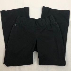 Gap Maternity Black Hip Slung Fit Pants, 10